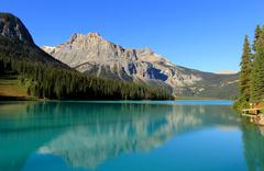 Emerald lake, yoho national park, british columbia, canada Stock Photos