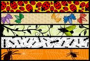 Stock Illustration of Web bug banners