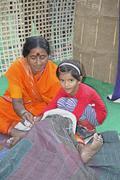 Pieni tyttö nainen tekee godhadi n ovat pohjimmiltaan peittoja, jotka ovat tehne Kuvituskuvat