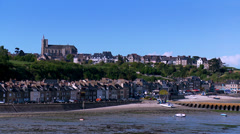 Cancale France Stock Footage