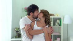 In His Arms Stock Footage