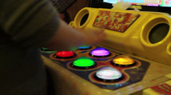 Arcade, Video Games 04 Stock Footage