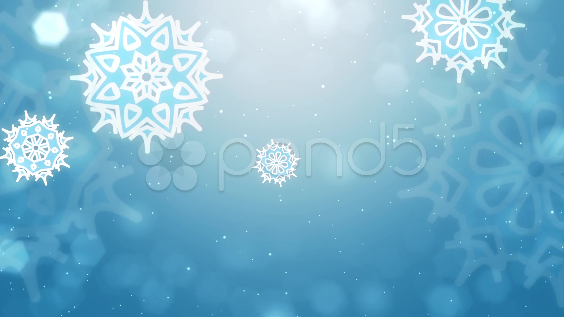 After Effects Project - Pond5 Christmas Flakes and Lower Third 33898369