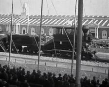 1914 - Railway 01 Stock Footage
