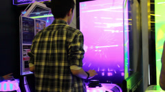 Arcade, Video Games 03 Stock Footage