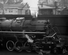 1929 - Railway 01 - stock footage