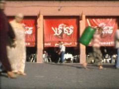 SUPER8 MOROCCO - Jemaa el-Fna time lapse Marrakech - 2009 Stock Footage