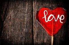 Love lolly pop Stock Photos