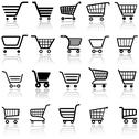 Stock Illustration of Shopping Cart Sign
