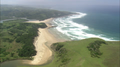 Stock Video Footage of South African coast
