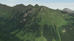 Green mountains - Switzerland Stock Footage