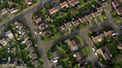Suburbs in England - stock footage