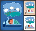 Stock Illustration of Insomnia