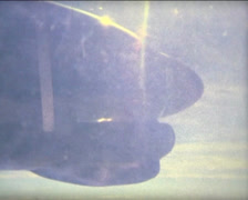 SUPER8 MOROCCO propeller when flying over Morocco - 2009 Stock Footage