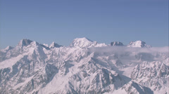 Stock Video Footage of Mont Blanc