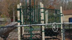 Empty playground (1 of 2) Stock Footage