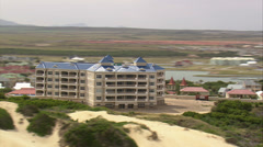 Apartment block in South Africa Stock Footage