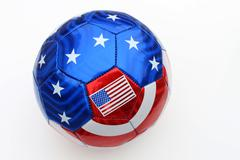 Stars and Stripes Volleyball Stock Photos