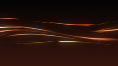 Background amber streaks loop Stock Footage
