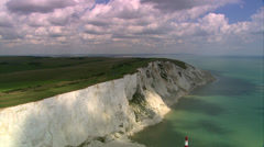 Seven Sisters cliffs Stock Footage