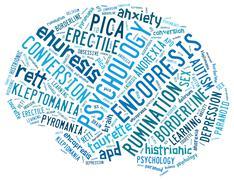 Psychology concepts Stock Illustration