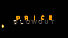Price Blowout:  Animation Stock Footage