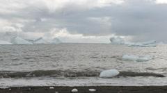 Icebergs Stock Footage
