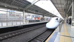 Shinkansen Train, Day Stock Footage