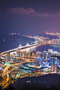 busan south korea - stock photo
