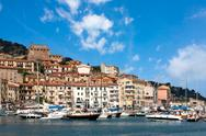 Stock Photo of porto santo stefano, tuscany, italy