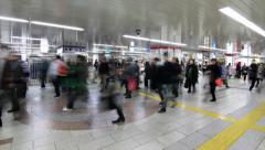 Subway 360, Time Lapse, Tokyo Stock Footage