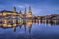 dresden - stock photo
