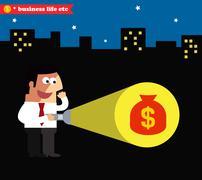 Business achievement Stock Illustration