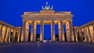 Stock Video Footage of Brandenburg Gate