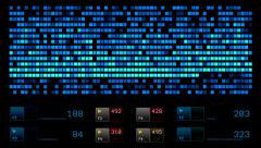 Monitoring data category Stock Footage