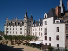 Castle of the dukes of Brittany, Nantes Stock Photos
