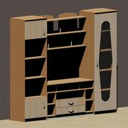 Bedroom Furniture Model 3 3D Model