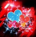 Stock Illustration of Valentine card. Vector