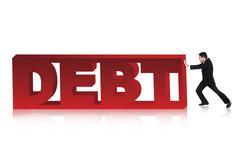 Vähentämään yritysten velka Piirros