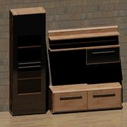 Bedroom furniture model 1 3D Model