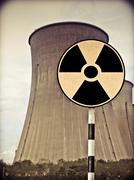 Stock Photo of cooling towers of the nuclear power station