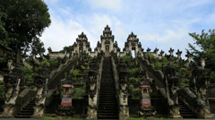 Temple Bali Door V005 Stock Footage