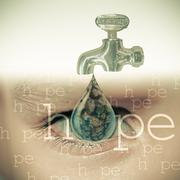 Save water, concept Stock Illustration