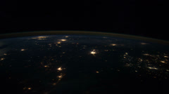 Centplains iss 20120130HighRes Stock Footage