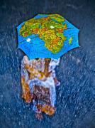 Stock Illustration of world map, concept