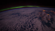 Stock Video Footage of europeaurora iss 20120405HighRes