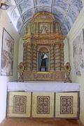 Stock Photo of interior of basilica of bom jesus (b.1605) holds tomb of st. francis xavier,
