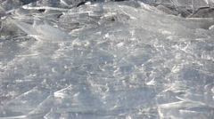 Duluth Winter Ice Lake 7 Stock Footage