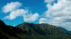 Timelapse Pali Mountain - stock footage