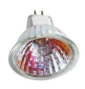 multifaceted reflector (mr) halogen lamp - stock photo